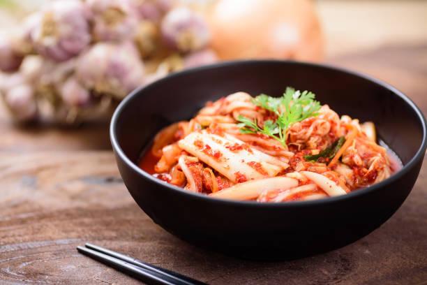 Kimchi Kohl, koreanisches Essen – Foto