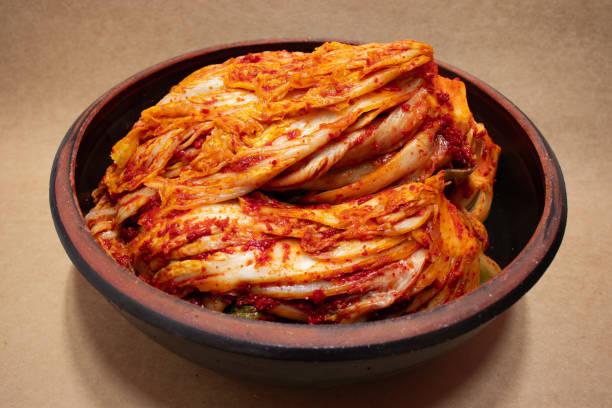 Kimchi, Korean food. Napa cabbage kimchi, Korean traditional food. kimchee stock pictures, royalty-free photos & images