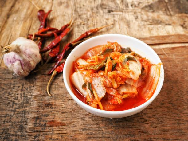 Kimchi korean food Kimchi korean food kimchee stock pictures, royalty-free photos & images