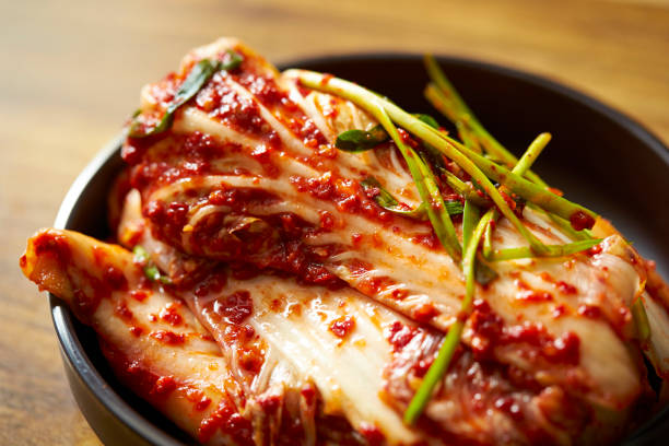 Kimchi Kimchi, Korean pickles kimchee stock pictures, royalty-free photos & images