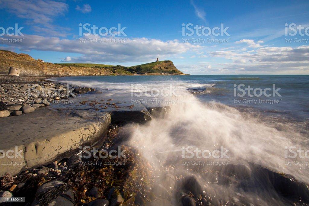 Kimmeridge Bay, Jurassic coast Jurassic coastline, UNESCO world Heritage Site 2015 Stock Photo