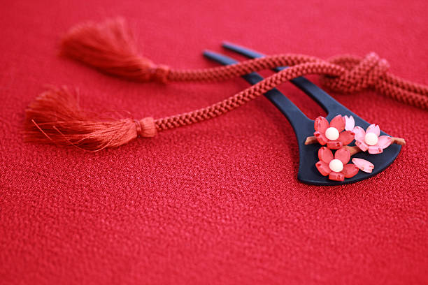 Kimono accessories ストックフォト
