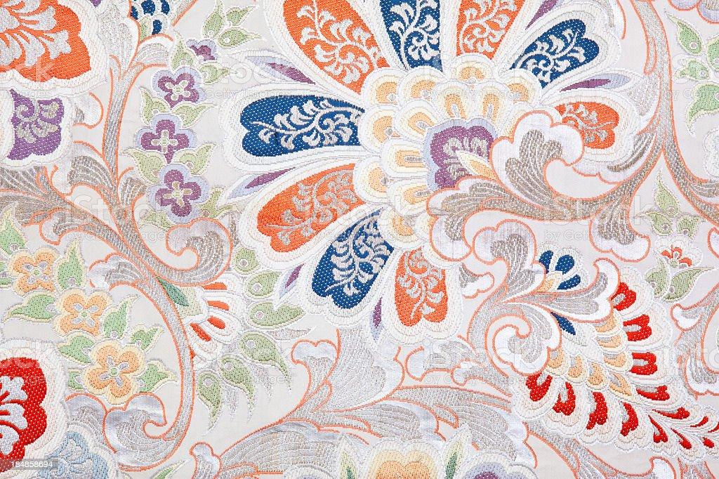 Kimono Fabric royalty-free stock photo
