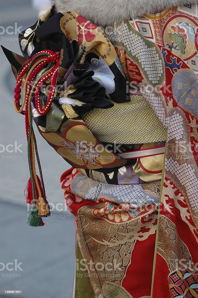 kimono royalty-free stock photo
