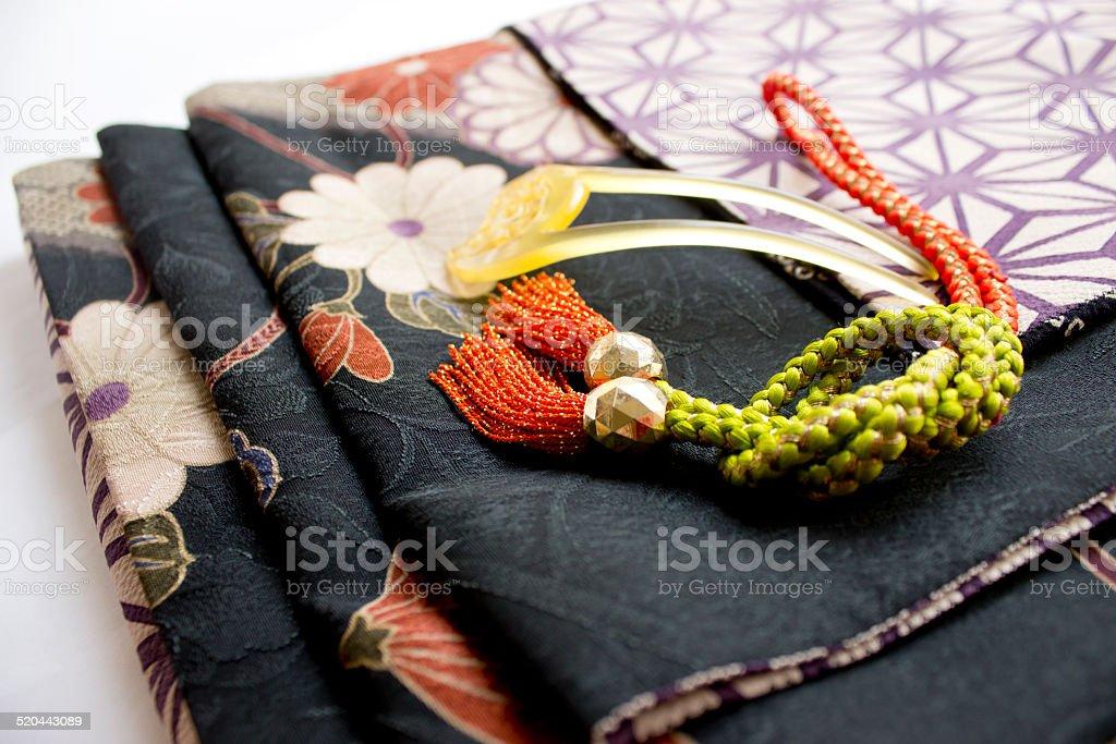 kimono stock photo
