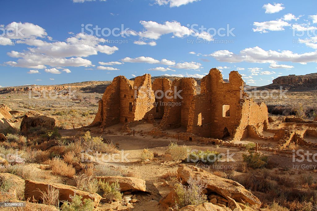 Kin Kletso Ruins stock photo