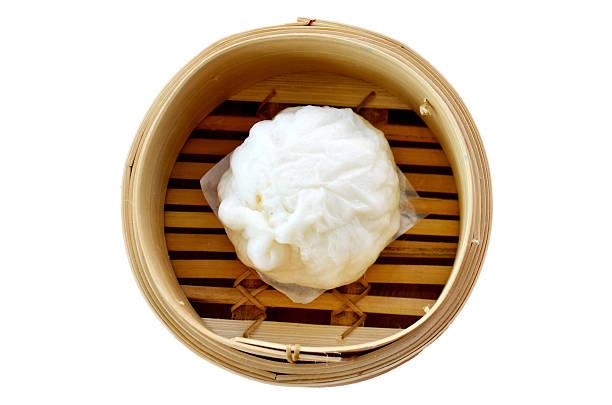 art der chinesischen snacks knödel - semmelknödel stock-fotos und bilder