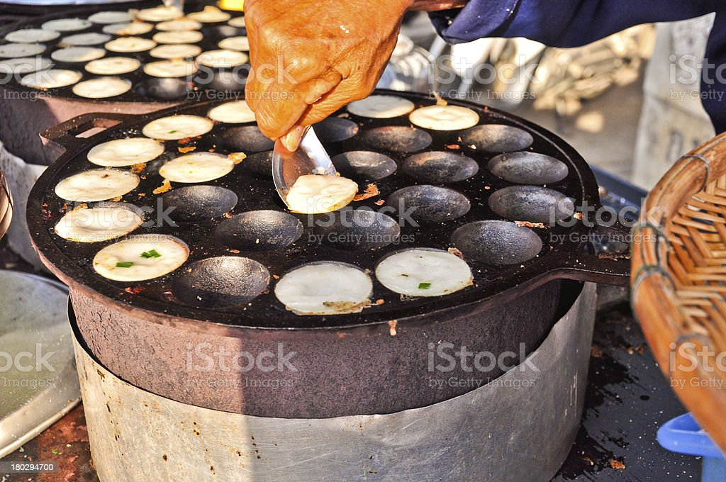 Kind of Thai sweet meat in the market royalty-free stock photo
