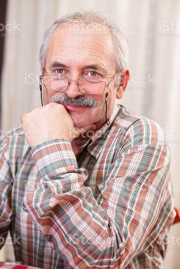 Kind senior man royalty-free stock photo