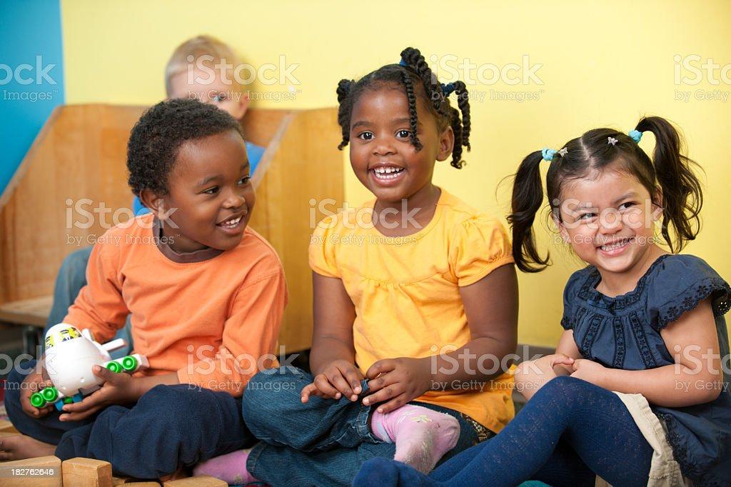 Kinder kids royalty-free stock photo