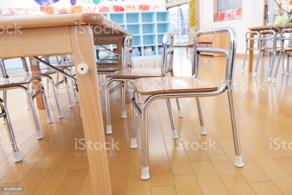 Astonishing Kindergarten Desk And Chair Stock Photo More Pictures Of Inzonedesignstudio Interior Chair Design Inzonedesignstudiocom