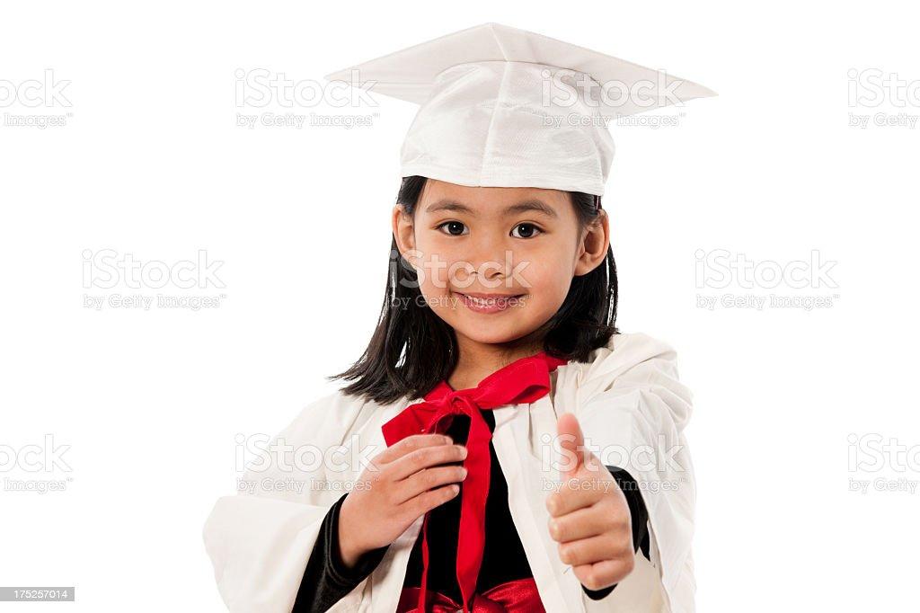 Kindergarten graduation royalty-free stock photo