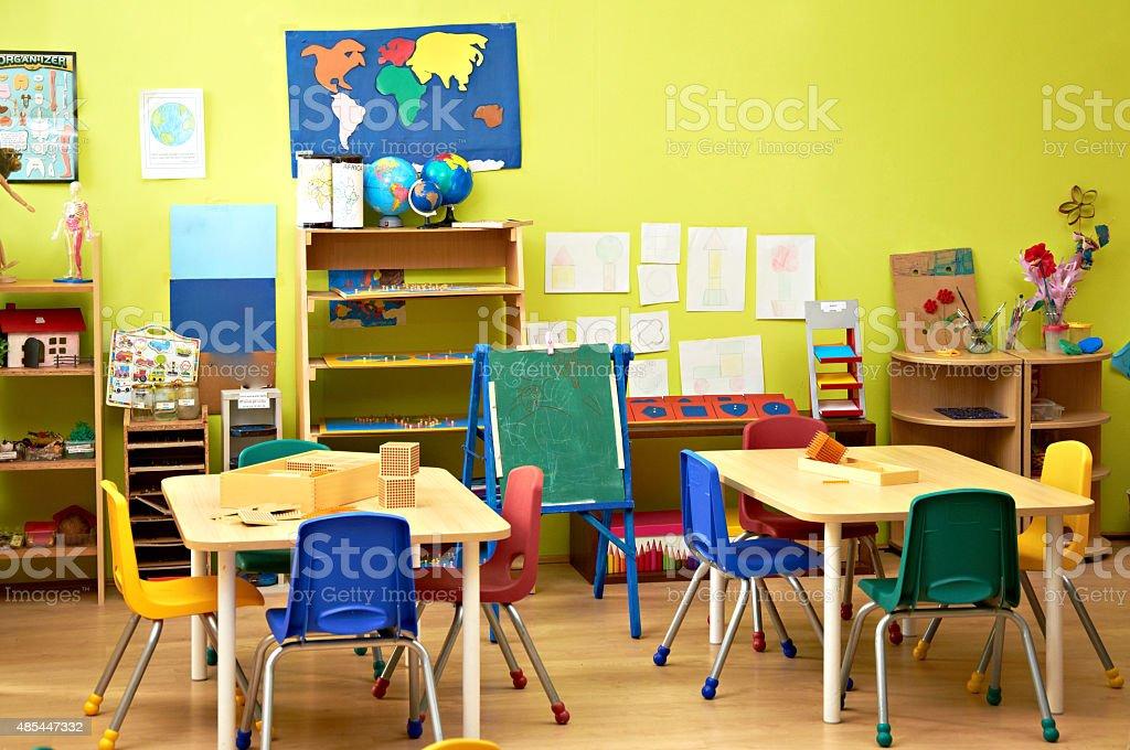 Bereits im Kindergarten Innenraum – Foto