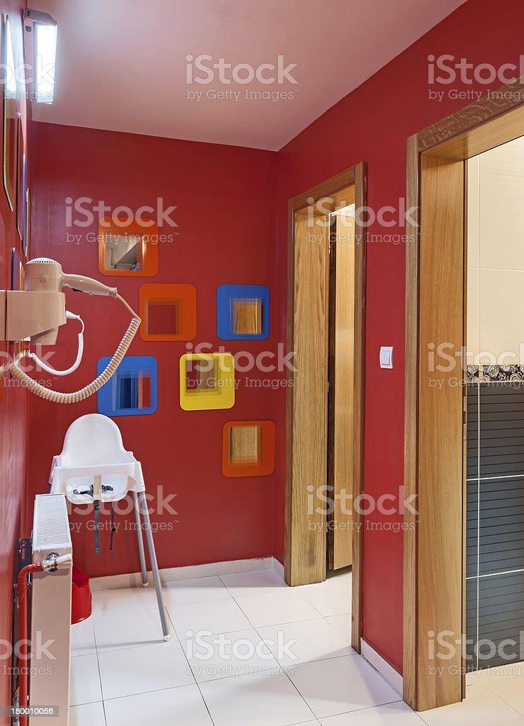 유치원 화장실 royalty-free 스톡 사진