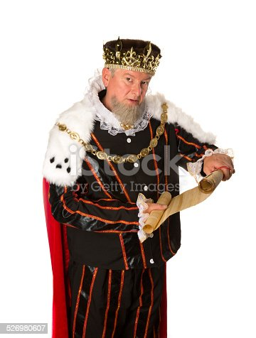 istock King announcement 526980607