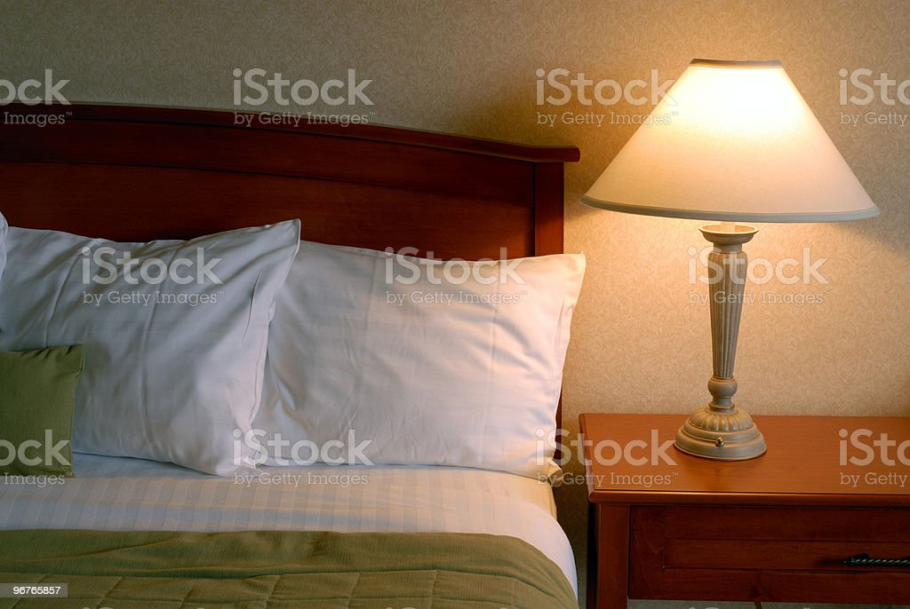 King Bed royalty-free stock photo