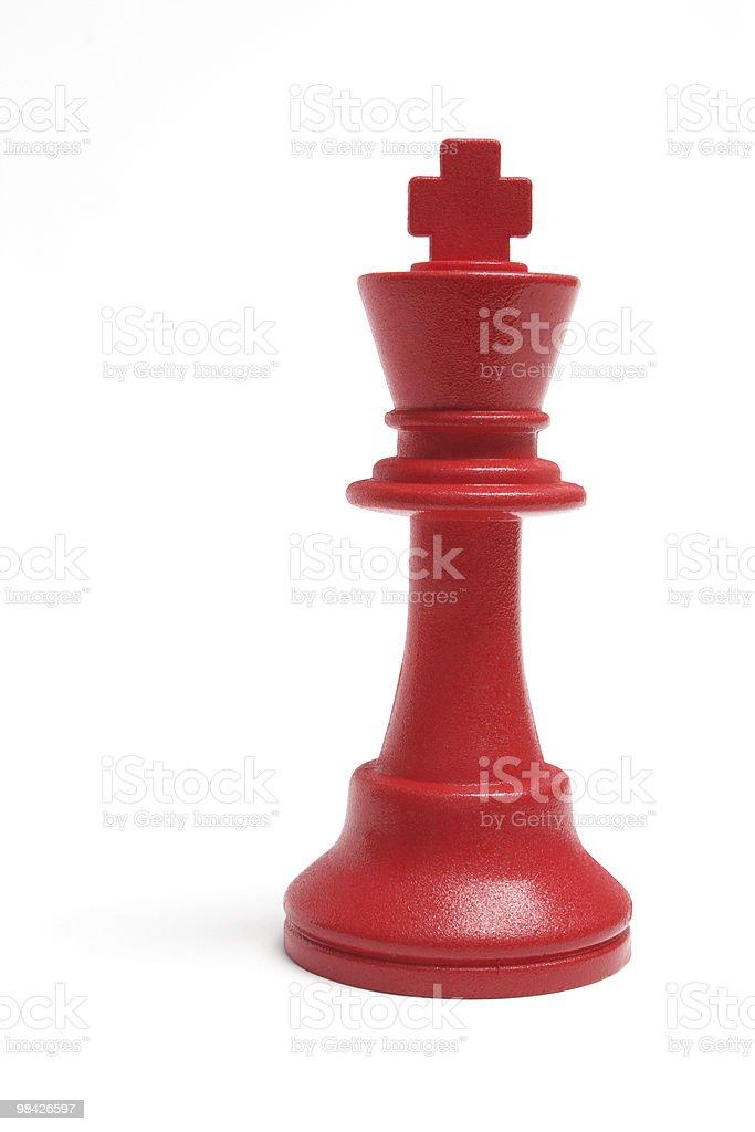 King Chess royalty-free stock photo