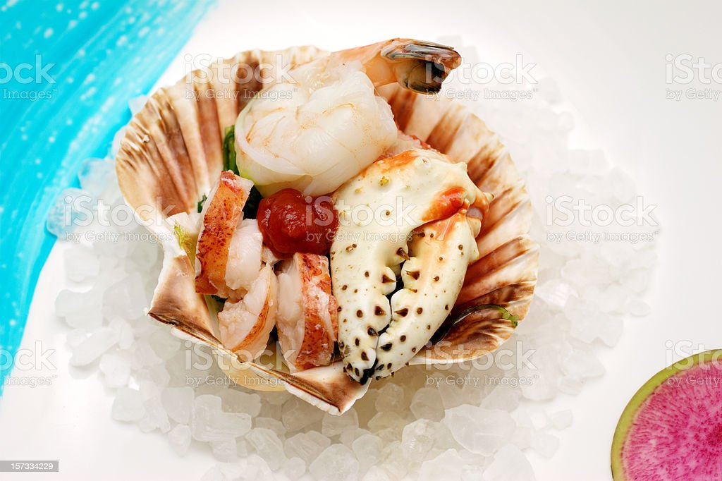 King Crab and More royalty-free stock photo