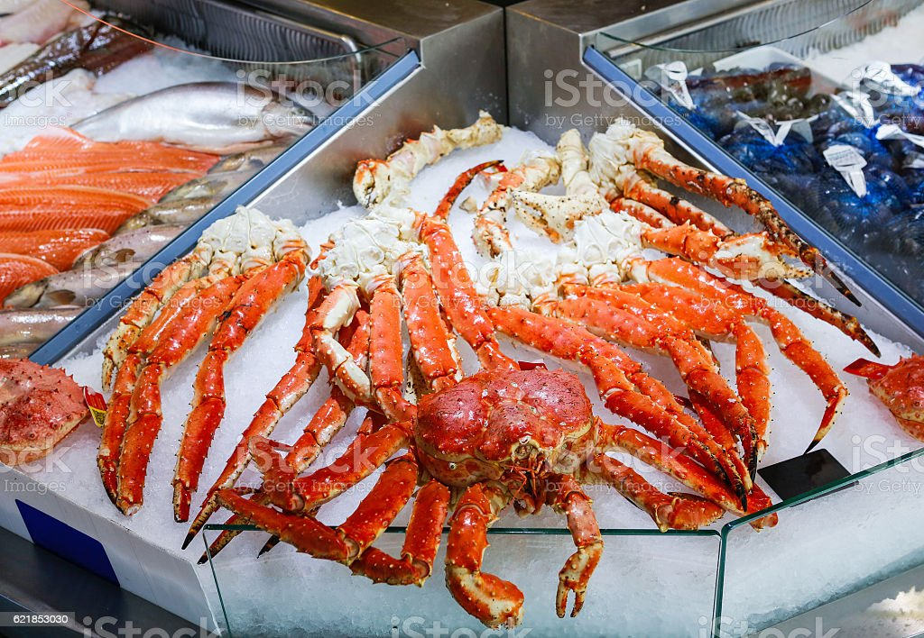 King Crab For Sale Stock Photo - Download Image Now - iStock