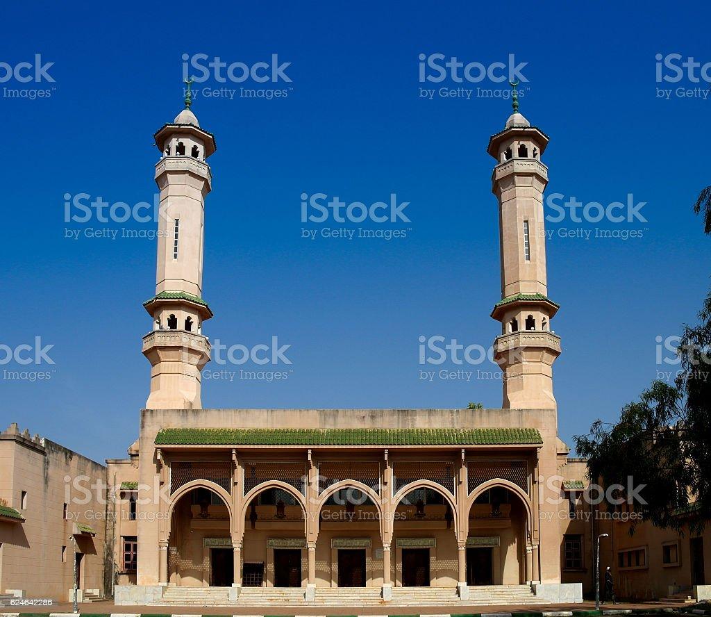 King Fahad Mosque in Banjul, Gambia stock photo
