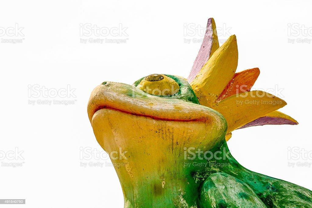 King Frog stock photo
