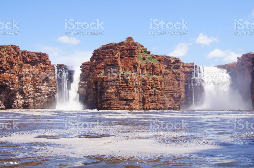 King George Falls The Kimberley Australia stock photo