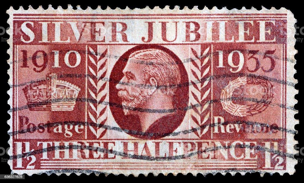 King George V stock photo