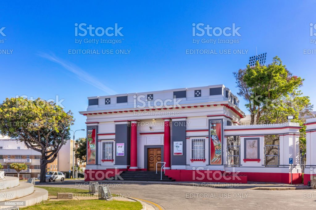 King George VI Art Gallery in Port Elizabeth stock photo