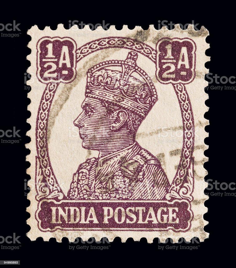 King George VI stock photo