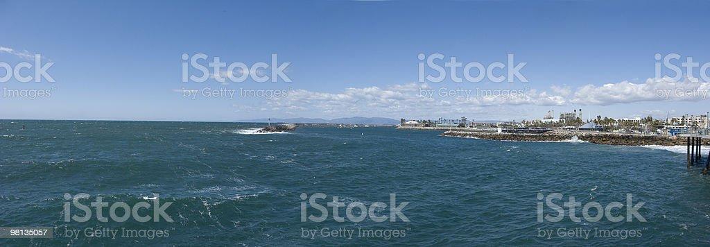 King Harbor, City of Redondo Beach, CA royalty-free stock photo