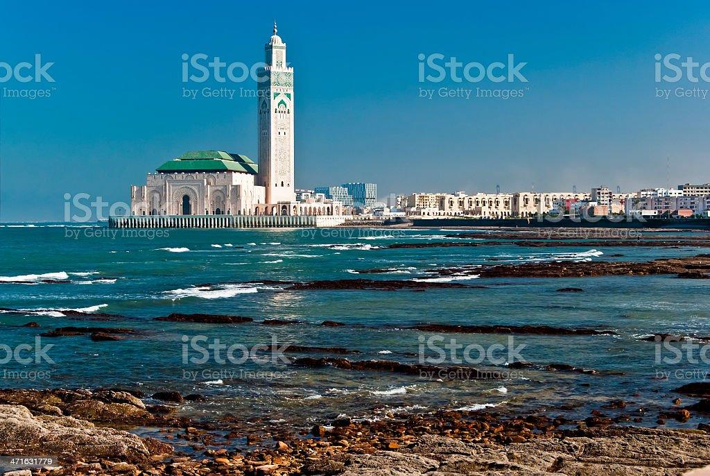King Hassan II Mosque, Casablanca, Morocco stock photo