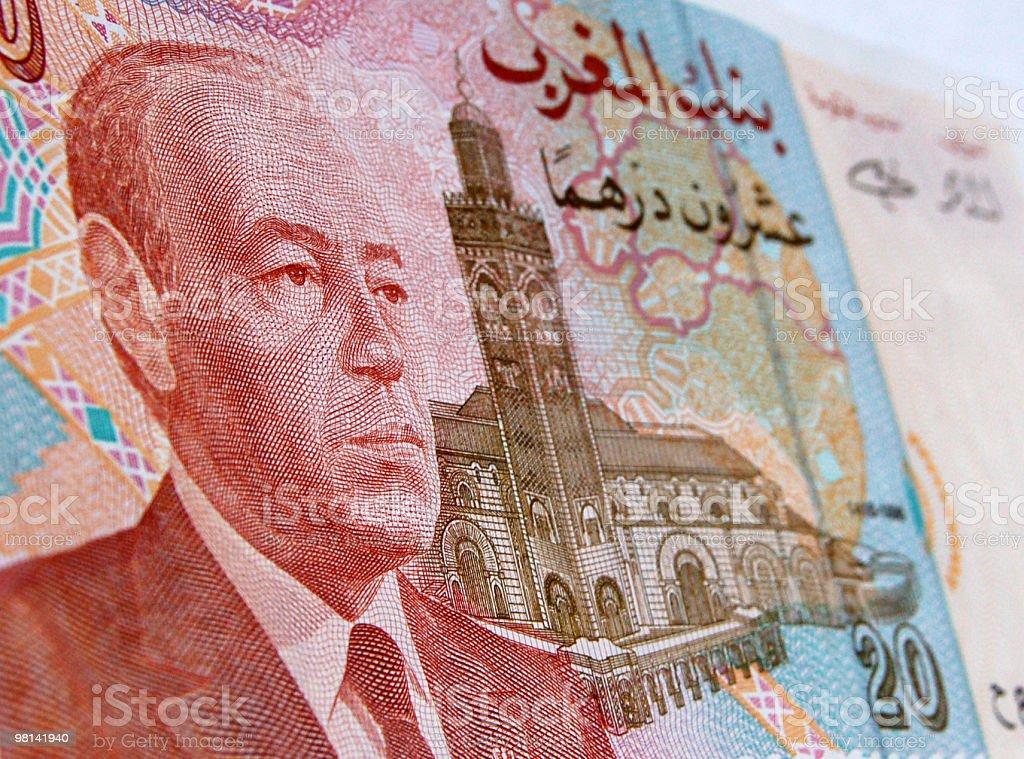 Re Hassan del Marocco foto stock royalty-free