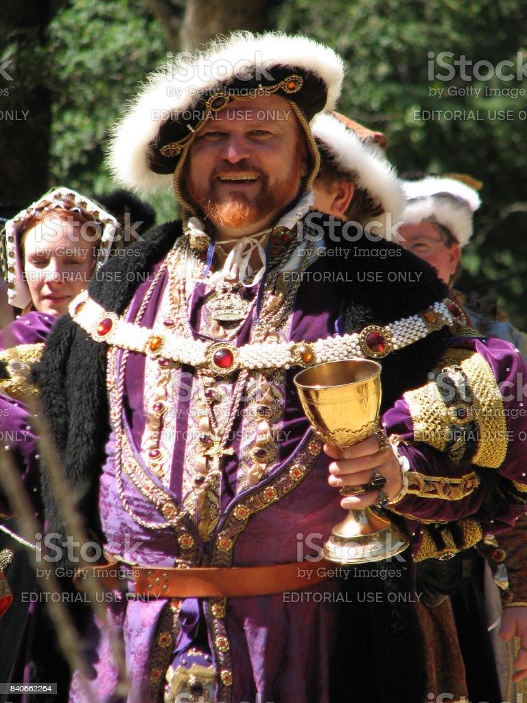 King Henry VIII stock photo