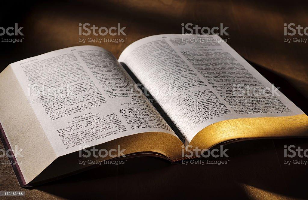King James Bible stock photo
