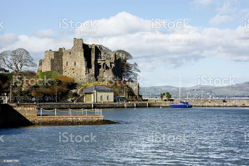 King John's Castle in  Carlingford stock photo
