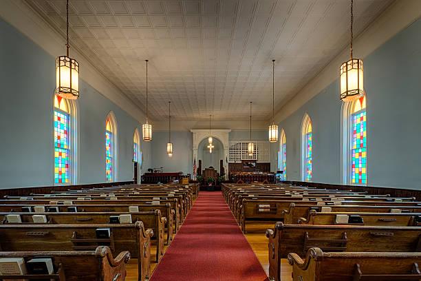 King Memorial Baptist Church stock photo