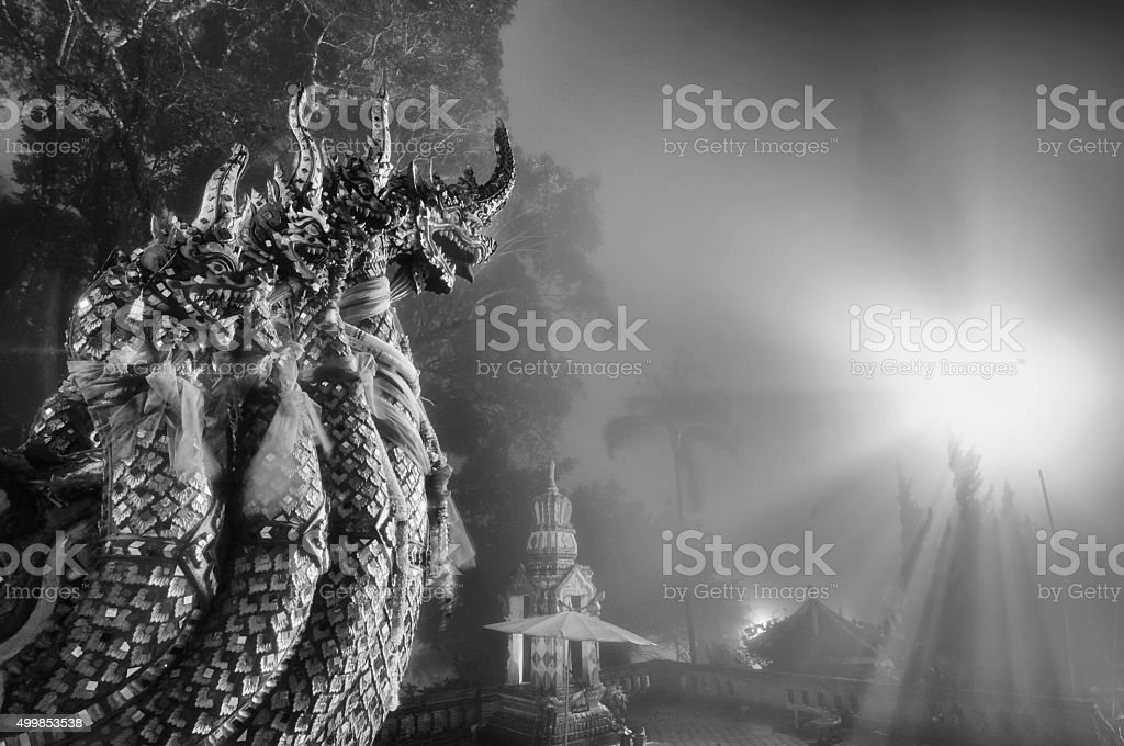 King of Nagas royalty-free stock photo