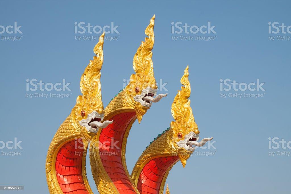 King of naka statue royalty-free stock photo