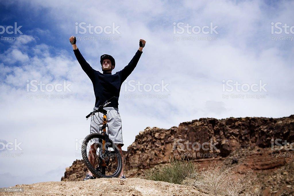 King of the Mountain royalty-free stock photo