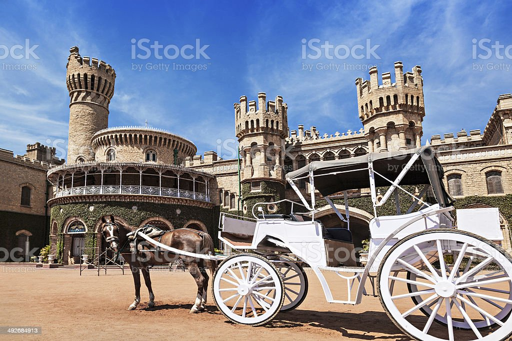 King Palace stock photo