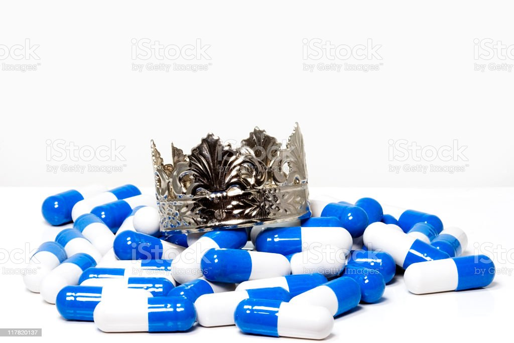 King Pills the First stock photo