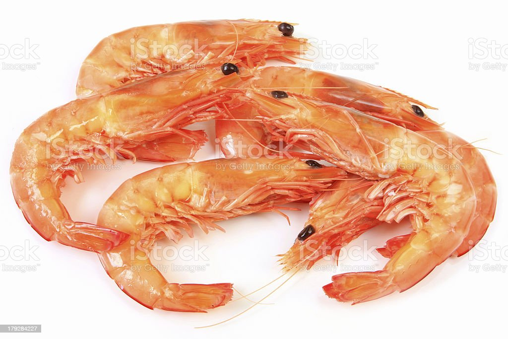 King Prawns stock photo