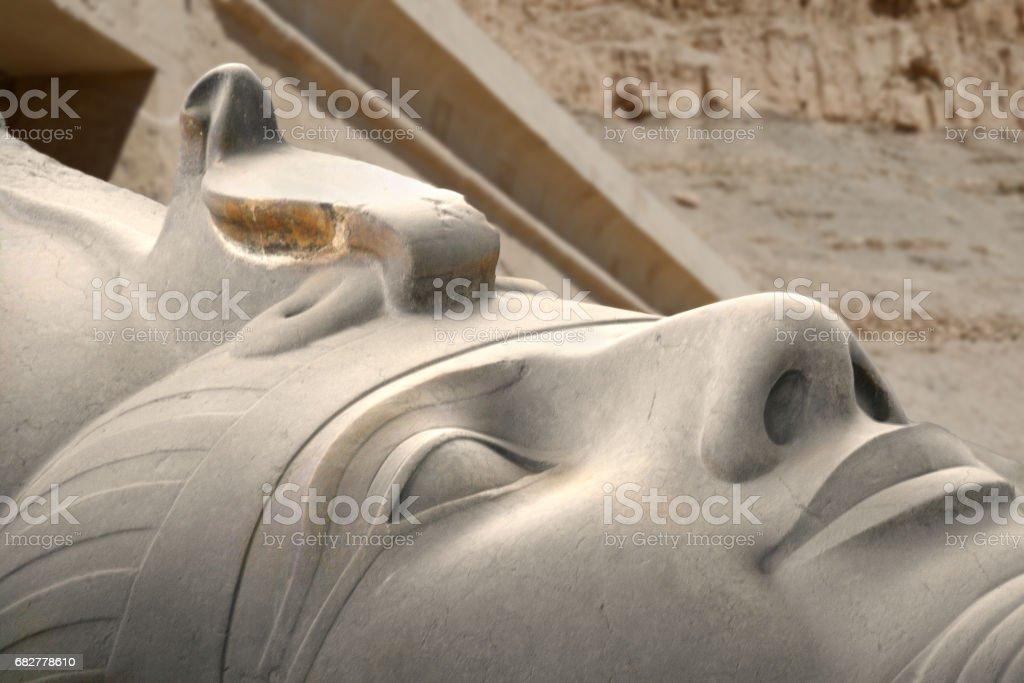 King Ramesses II, Memphis, Egypt stock photo