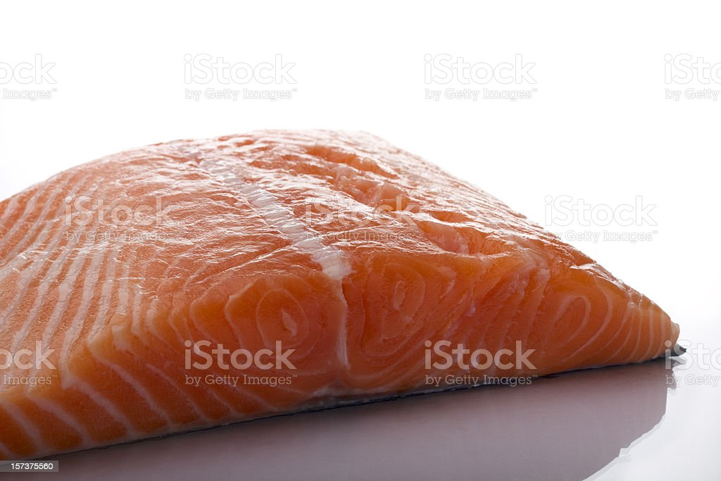 King Salmon Fillet royalty-free stock photo