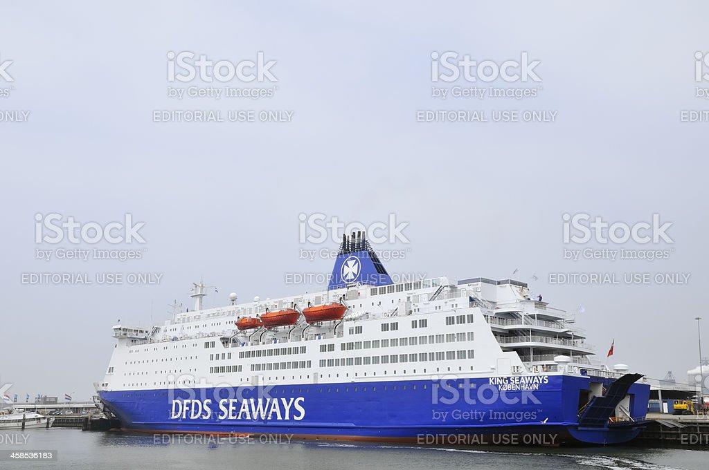 King Seaways royalty-free stock photo