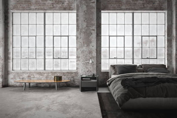 1 259 Vintage Industrial Bedroom Stock Photos Pictures Royalty Free Images Istock