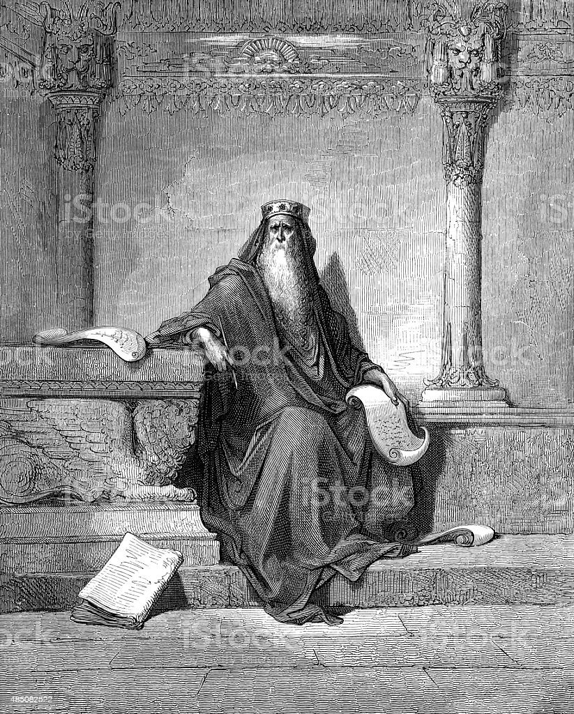 King Solomon stock photo