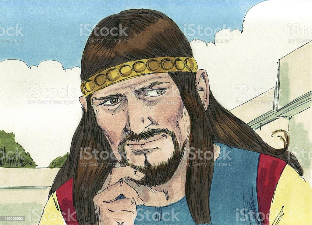 King Solomon, the Wise royalty-free stock photo