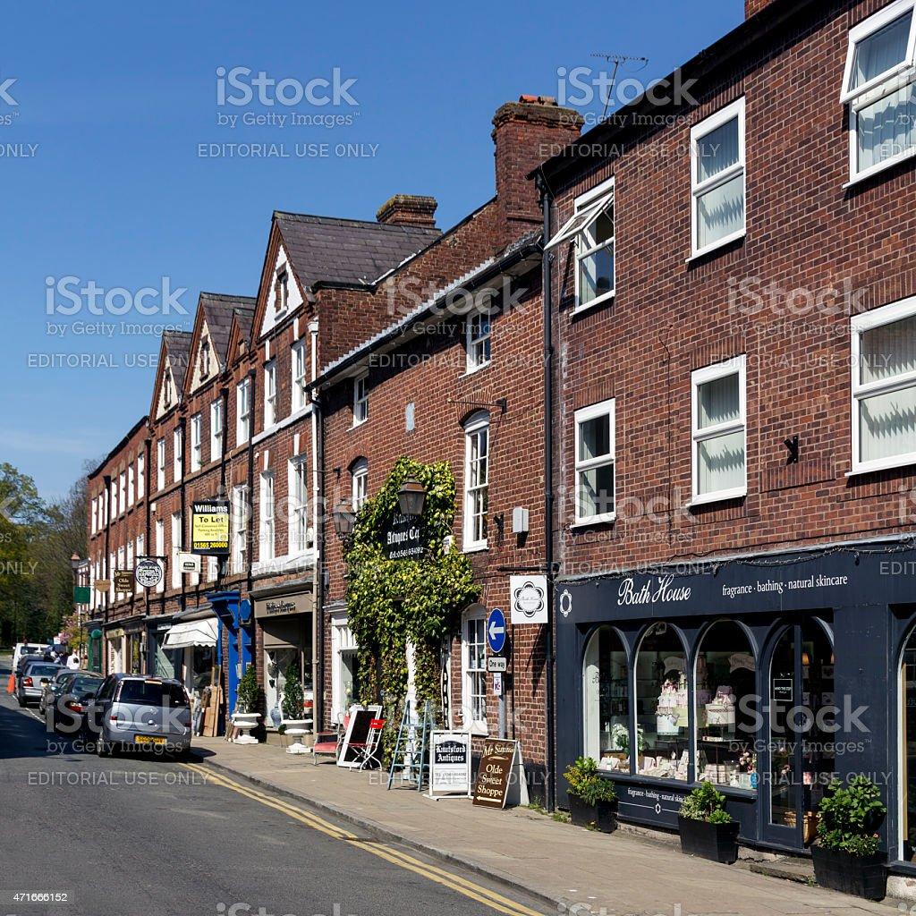 King St Knutsford Cheshire stock photo