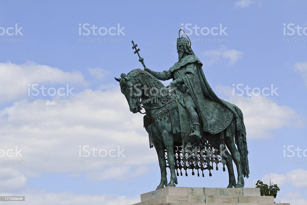 King Stephan royalty-free stock photo